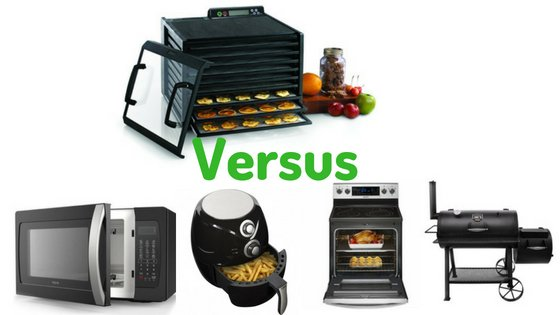 Food dehydrator versus others
