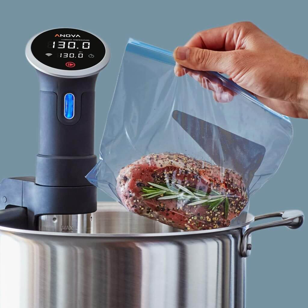 Immersion Circulator for sous vide cooking