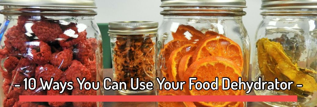 10 Ways You Can Use Your Food Dehydrator